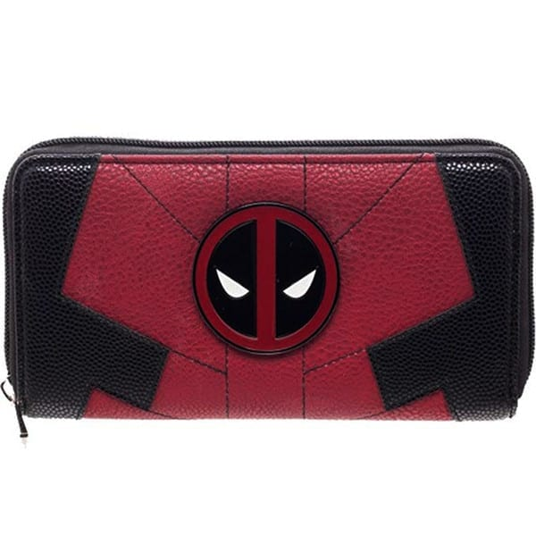 Billetera Larga Deadpool PT Deadpool Marvel En cuerina (Emblema Metálico)