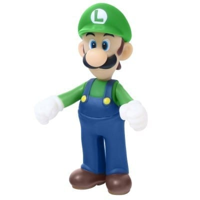 """Figura Luigi Banpresto Mario Bros Videojuegos 5"""" (Copia)"""