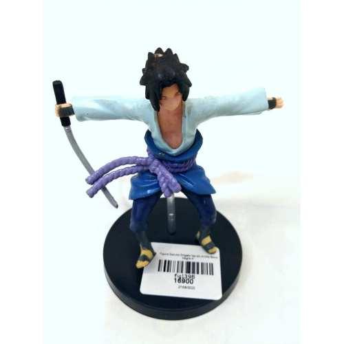 """Figura Sasuke DHgate Naruto Anime Base Negra 4"""""""