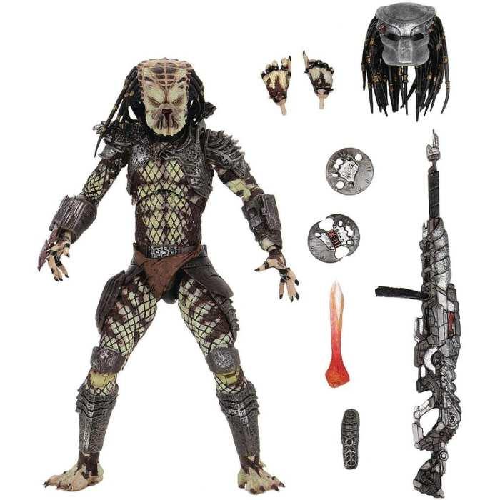 """Figura Articulada Depredador Neca Depredador 2 Ciencia Ficción Versión Scout 7"""" (Copia)"""