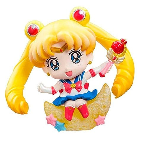 "Figura Sailro Moon Petit Sailor Moon Anime Sentada en Estrella 2"" (copia)"
