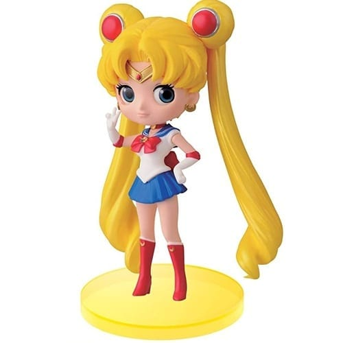 "Figura Sailor Moon Q Posket Sailor Moon Anime Base Amarilla 4"" (Copia)"