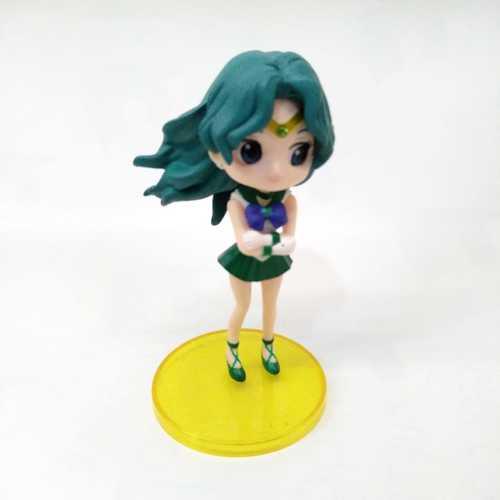 "Figura Sailor Neptune Q Posket Sailor Moon Anime Base Amarilla 4"" (Copia)"