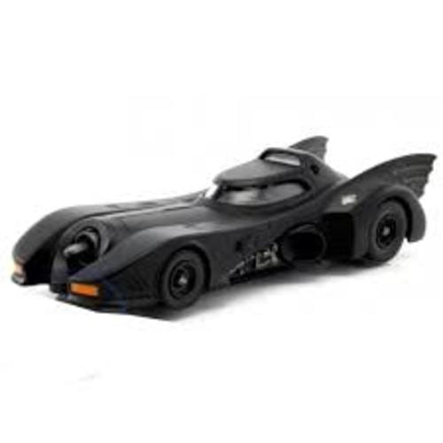 Vehículo Batimovil Jada Metal Die Cast Batman DC Comics 1989 Escala 1/24
