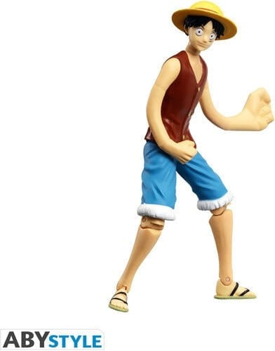 Figura Articulada Luffy Abysse One Piece Anime 12cm