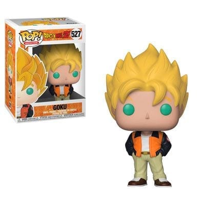 Figura Goku Funko POP Dragon Ball Anime Casual Super Saiyan