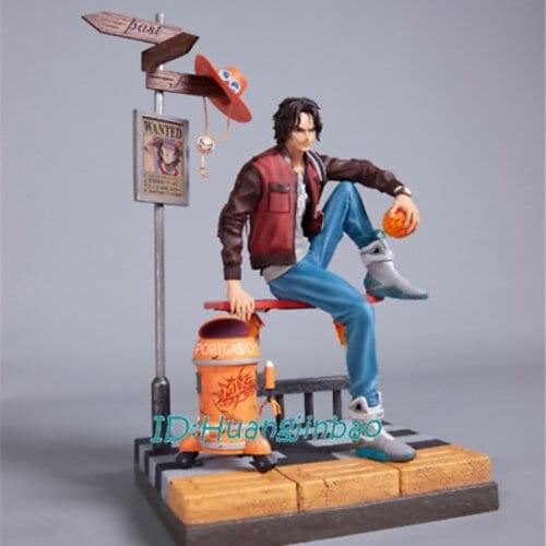 Estatuilla Portgas D. Ace MIX Studio One Piece Anime Back to the Future Escala 1:6 (copia)