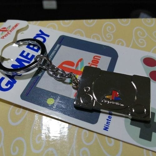 Llavero Metálico Consola Play  PT PlayStation Videojuegos