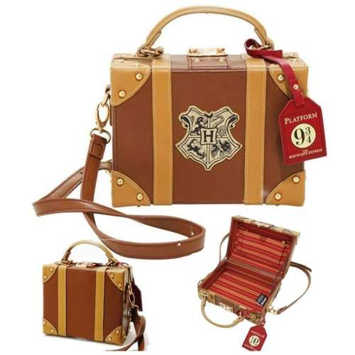 Bolso Plataforma 9 3/4 PT Harry Potter Fantasia