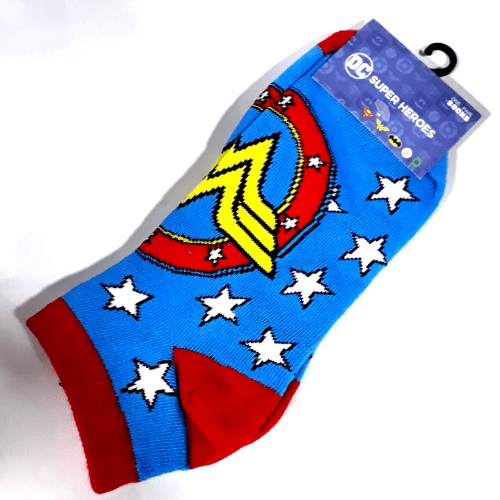 Medias Logo Wonder Woman PT Wonder Woman DC Comics (Copia)