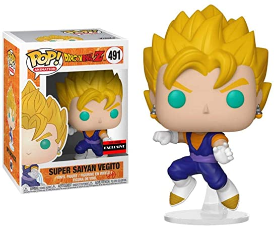 Figura Vegito Funko POP Dragon Ball Anime Super Saiyan