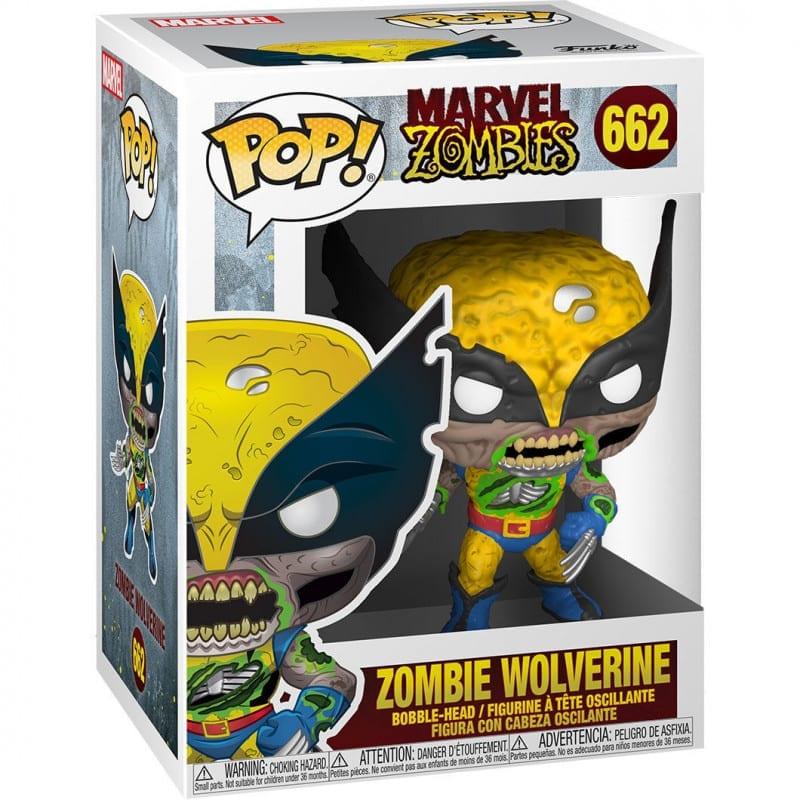 Figura Wolverine Funko POP Marvel Zombies  Marvel Zombie