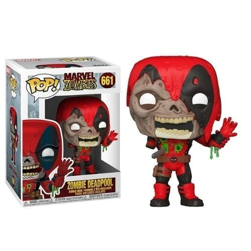 Figura DeadPool Funko POP Marvel Zombie