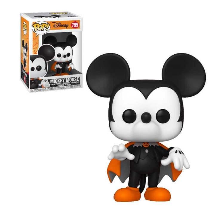 Figura Mickey Mouse Funko POP Disney Traje de Vampiro