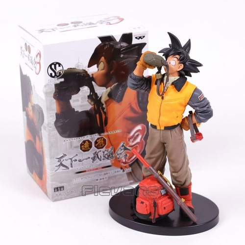"Figura Goku Banpresto Dragon Ball Anime Colosseum Series 3 Explorador 7"" (Copia)"