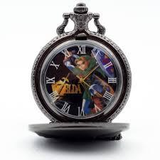 Reloj de Bolsillo Zelda PT Legend of Zelda Videojuegos Clásico (copia)