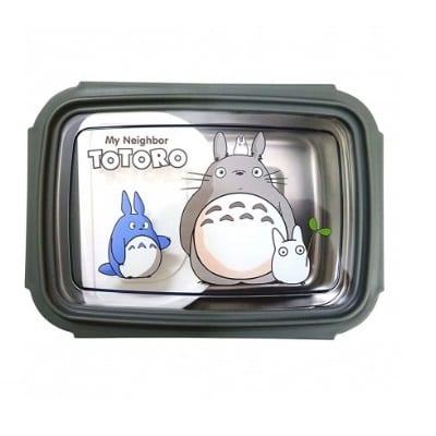 Portacomida Totoro BPA Mi Vecino Totoro Anime Mediano con Tenedor
