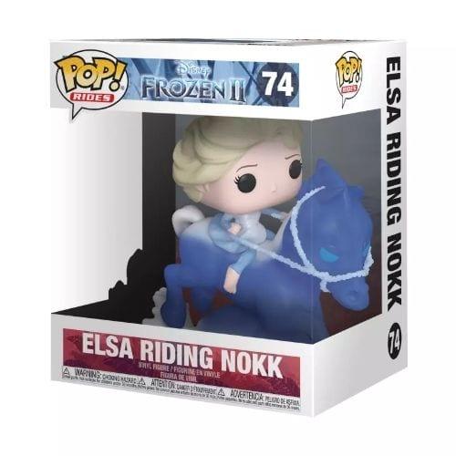 Figura Elsa Funko POP Ride Frozen 2 Disney Montando Nokk