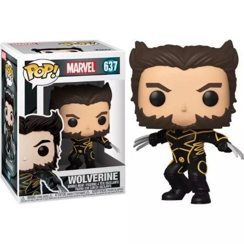 Figura Wolverine Funko POP X-Men Marvel 20Th con traje