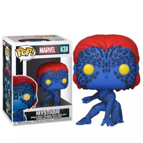 Figura Mystique Funko POP X-Men Marvel
