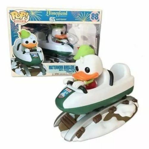 Figura Donald Funko POP Rides Disney Montaña Rusa Disneyland 65th Anniversary