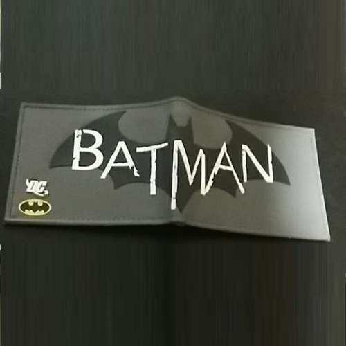 Billetera Goma Logo Arkham PT Batman DC Comics