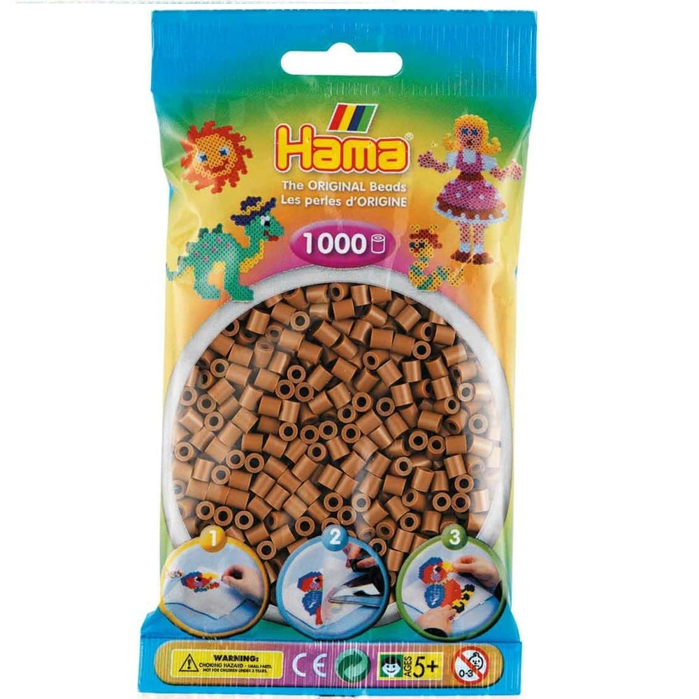Cuencas Hamma Beads Pictograma Didácticos Tamaño Mediano Paquete 1000 Piezas Color Turron