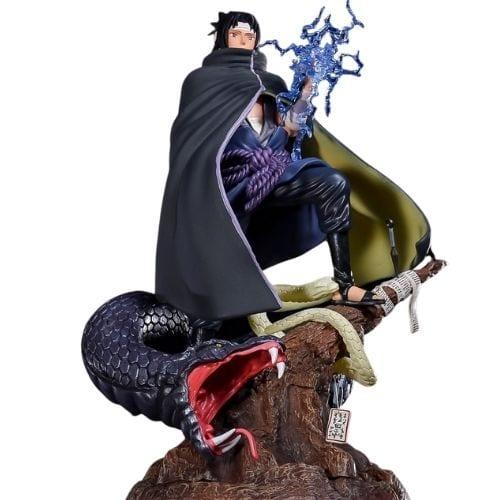 Estatuilla Sasuke Uchiha PT Naruto Anime con Serpiente 14''