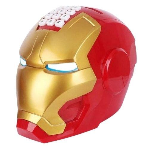 Alcancía Iron Man PT Marvel Casco con Clave
