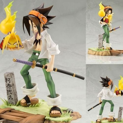 Estatuilla Yoh Azakura PT Shaman King Anime Escala 1/8  High Quality Reproduction