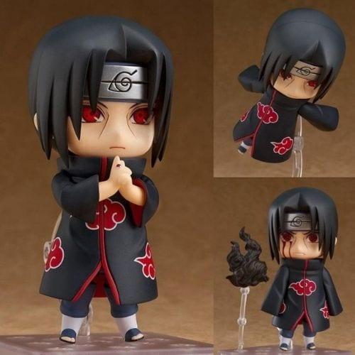 Figura Itachi Good Smile Nendoroid Naruto Shippuden Anime 820 High Quality Reproduction