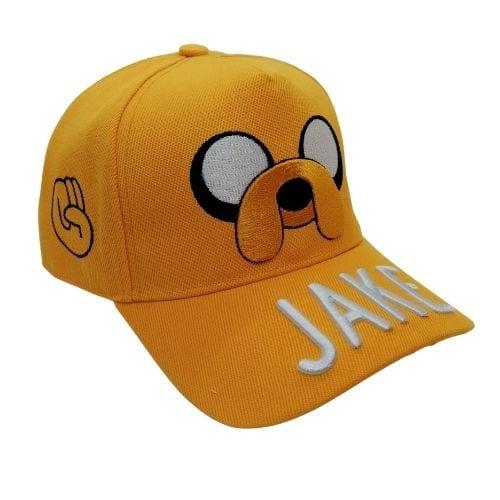 Gorra Jake PT Hora de Aventura Animados Cara bordada