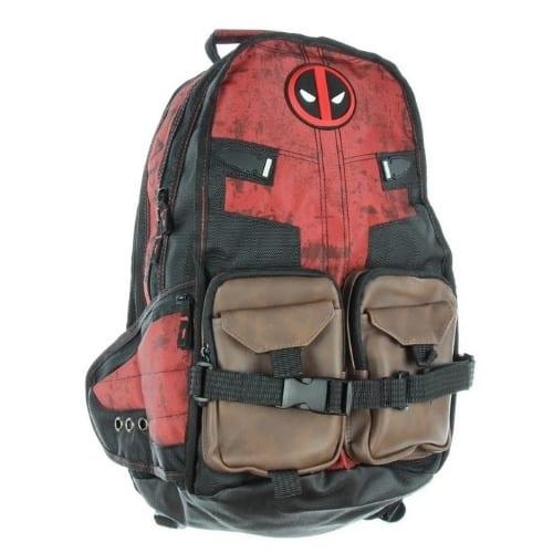 Maleta Deadpool PT Marvel Bolsillos cafes