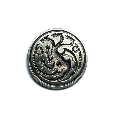 Pin Metálico Casa Targaryen TooGEEK Game of Thrones Series