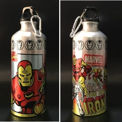 Botella Metálica Iron Man Jaimito Marvel
