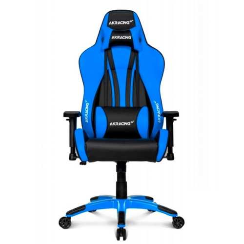 Silla Gamer Akracing Videojuegos Premium Blue Plus