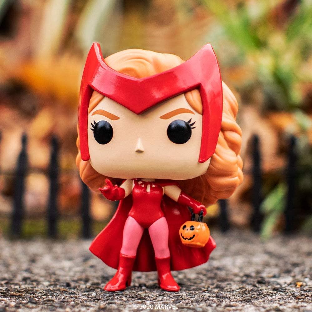 Figura Wanda Funko POP WandaVision Marvel Halloween (Entrega de 4 a 5 semanas una vez realizado el pago)