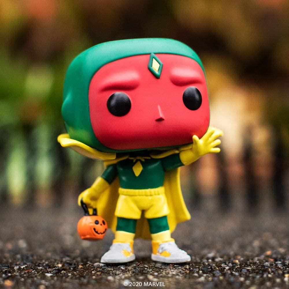 Figura Vision Funko POP WandaVision Marvel Halloween (Entrega de 4 a 5 semanas una vez realizado el pago)