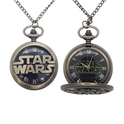 Reloj de Bolsillo PT Star Wars Logo Fondo Negro