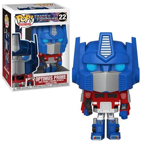 Figura Optimus Prime Funko POP Tranformers Pelicula