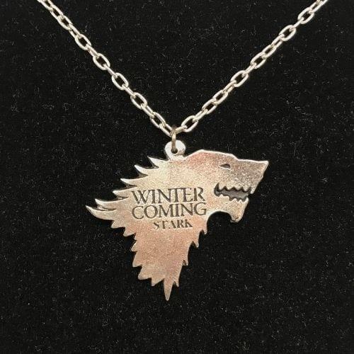 Game of Thrones - Collar TooGEEK Logo casa Stark