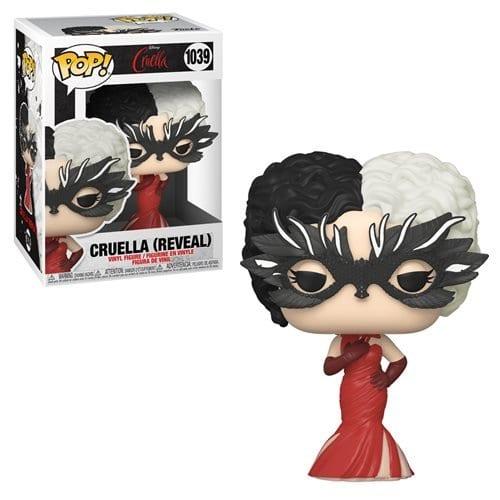 Figura Cruella Funko POP Disney Reveal (Pre-Venta Llegada Aproximada Julio)
