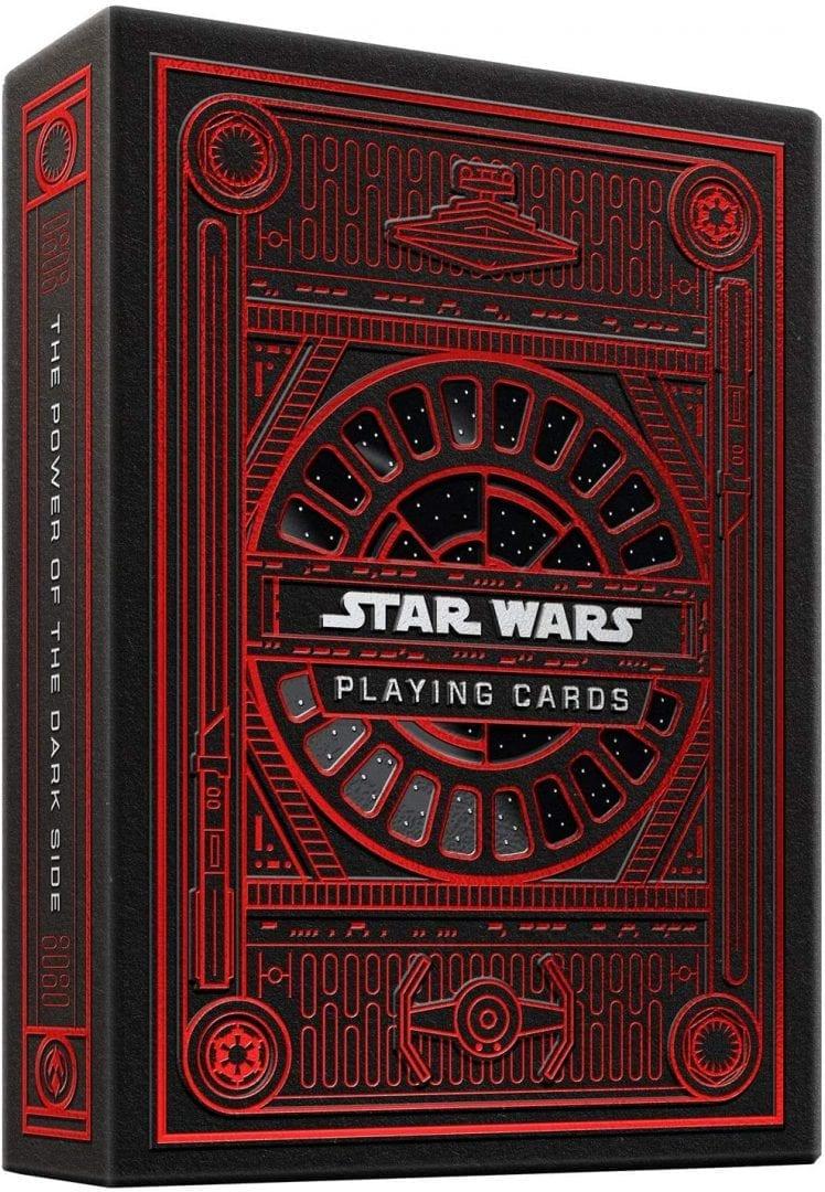Baraja de Cartas Star Wars Dark Side (rojo) (Entrega de 3 a 4 semanas una vez realizado el pago)