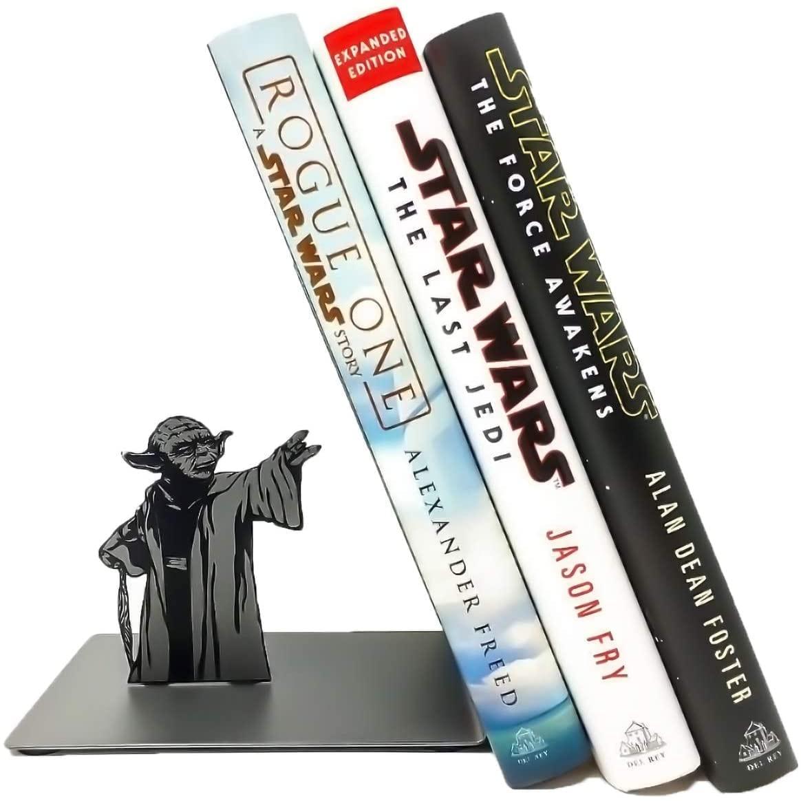 Sujetalibros para oficina y hogar Yoda The Force Bookshelf Star Wars (Entrega de 3 a 4 semanas una vez realizado el pago)