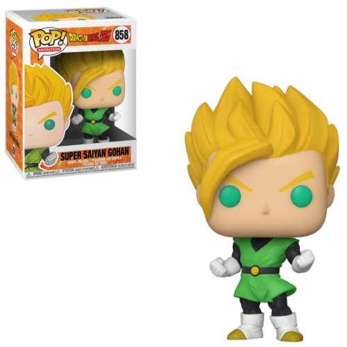 Figura Super Saiyan Gohan Funko POP Dragon Ball Animados Traje verde