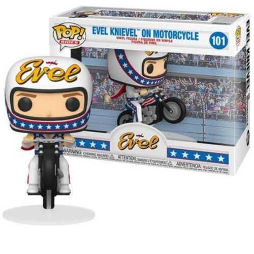 Figura Evel Knievel Funko POP Iconos On Motorcycle Rides