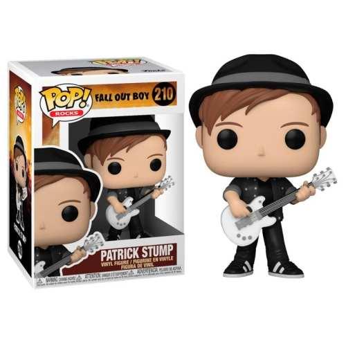 Figura Patrick Stump Funko POP Fall Out Boy Iconos Rocks