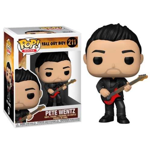 Figura Pete Wentz Funko POP Fall Out Boy Iconos Rocks