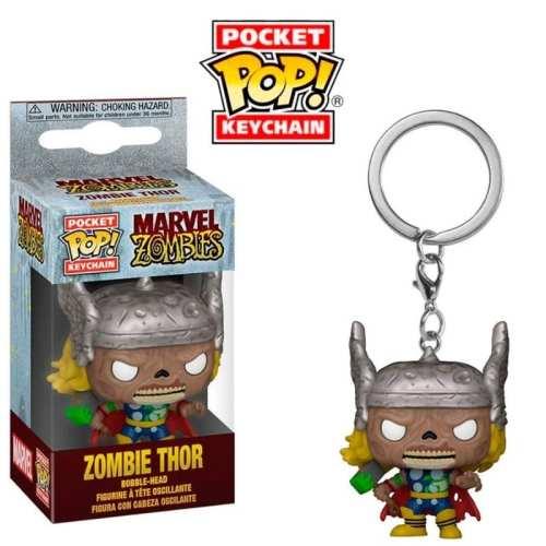 Llavero Zombie Thor Funko POP Avengers Marvel