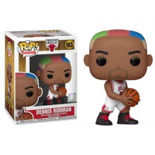 Figura Dennis Rodman Funko POP NBA Iconos Chicago Bulls